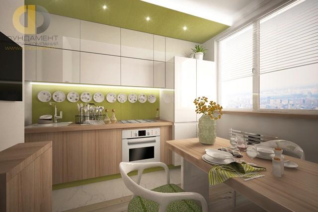 Дизайн кухни 10 кв. м в современном стиле. Фото новинок 2016