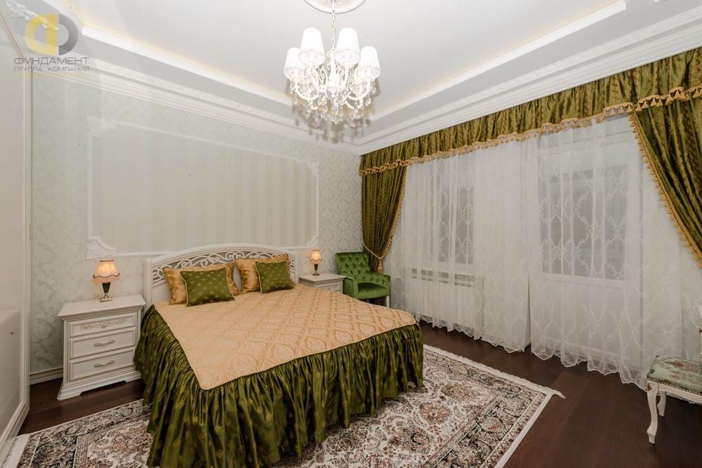 Дизайн элегантной классической спальни в квартире на Профсоюзной