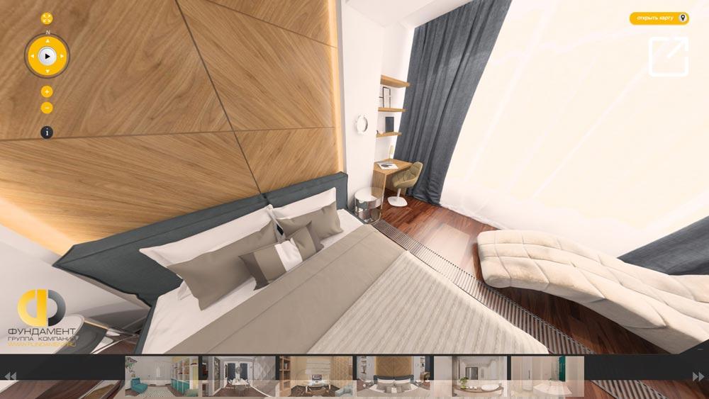 Эклектичный дизайн интерьера квартиры в 3d – ул. Мытная