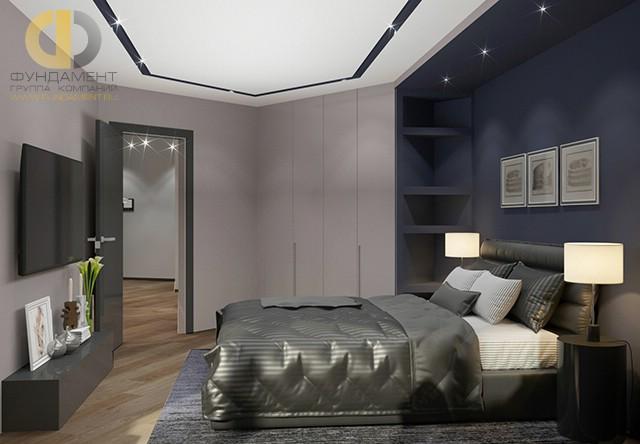 Современные идеи в дизайне минималистичной спальни. Фото 2016