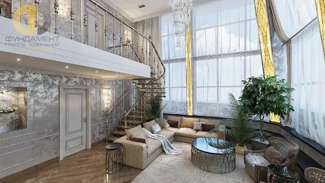 Красивые квартиры. Фото интерьера гостиной 2016