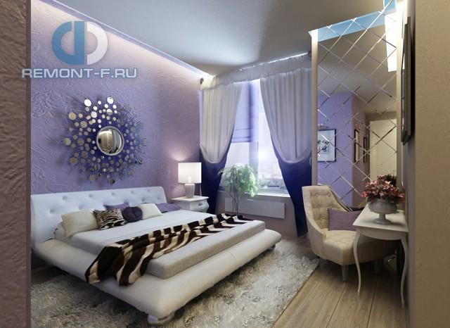 Красивые квартиры. Фото интерьера спальни в стилеарт-деко