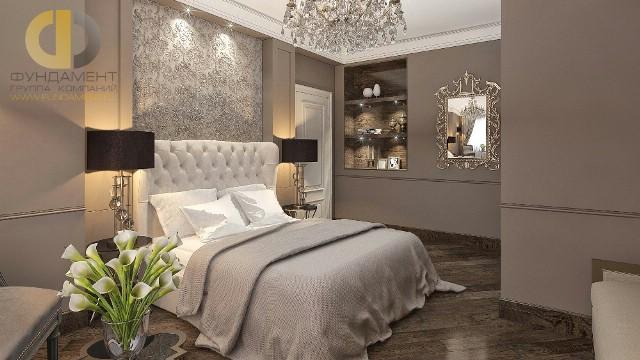 Современные идеи в дизайне спальни в стиле арт-деко. Фото 2016