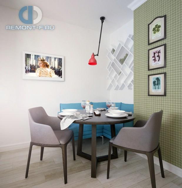 Дизайн столовой зоны в современной кухне