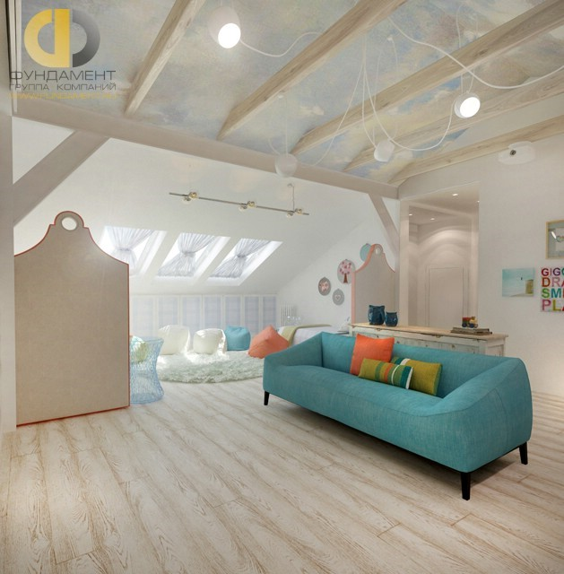 Двухэтажный красивый дом в с. Перхушково. Фото внутри