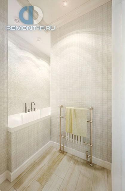 Дизайн ванной комнаты с ретро-аксессуарами