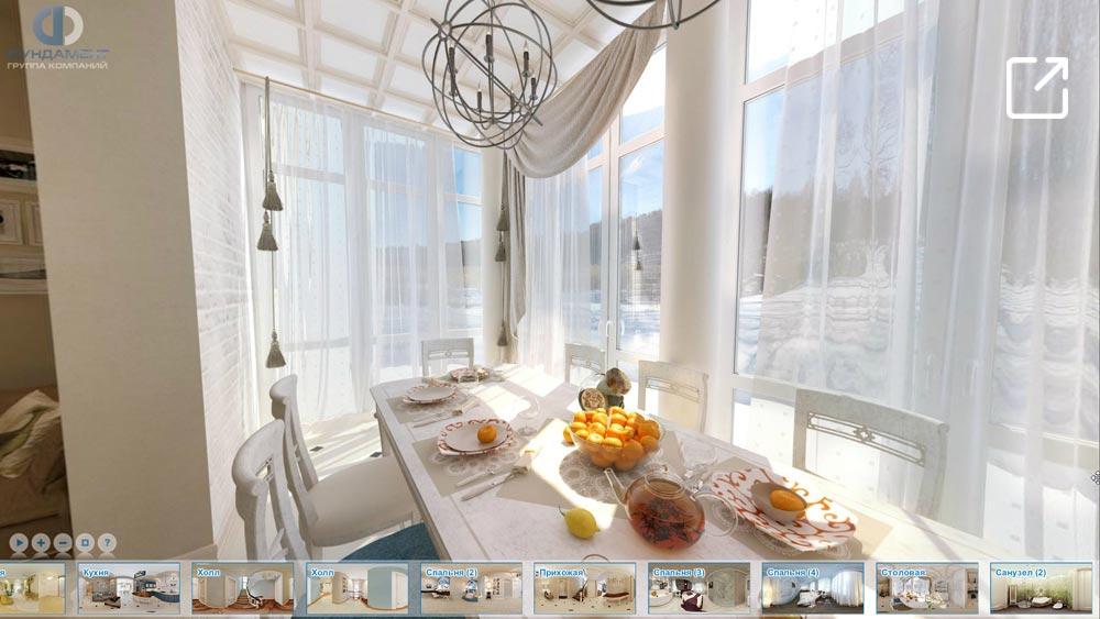 Дизайн интерьера загородного дома в 3d – с. Озерецкое
