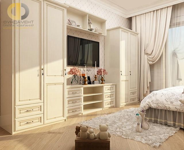 Современные идеи в дизайне спальни в классическом стиле. Фото 2016