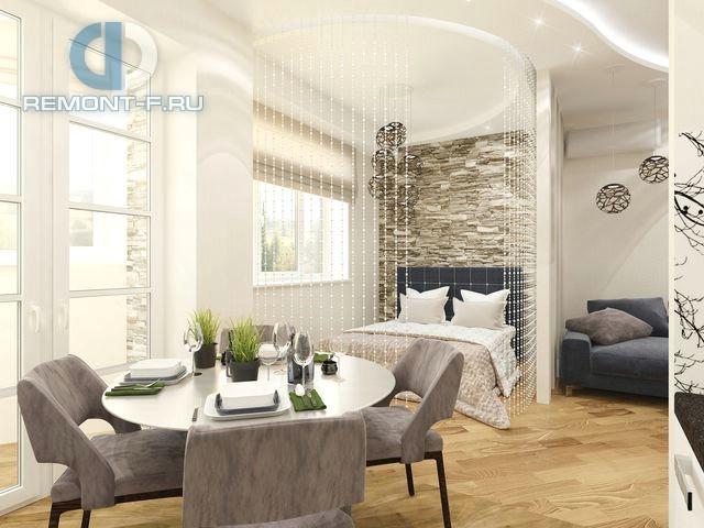 Дизайн столовой и спальни в современном стиле. Фото 2017