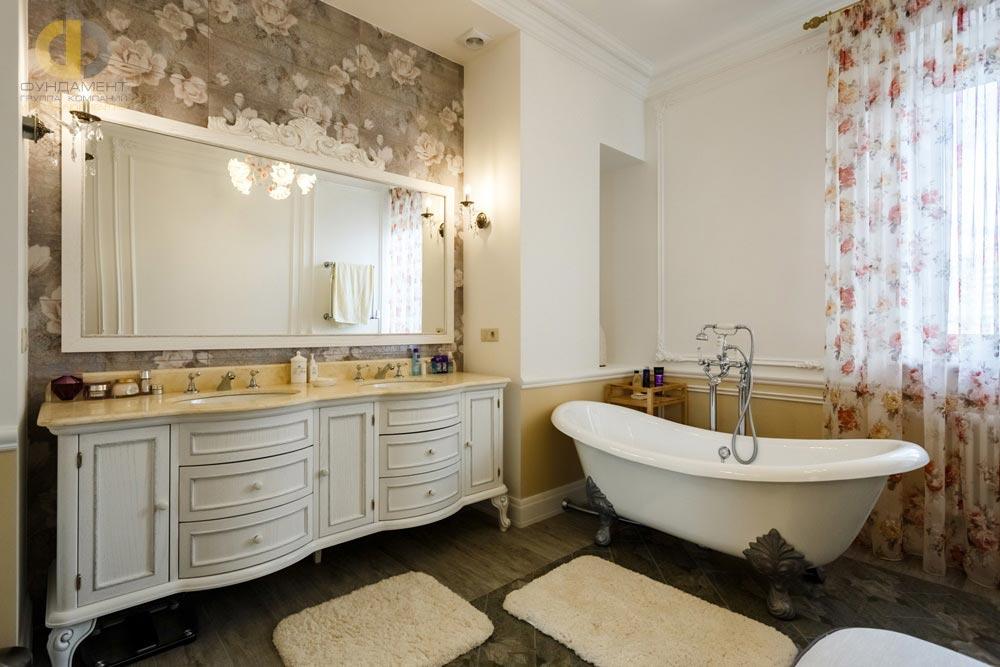 Ванная комната в стиле неоклассика
