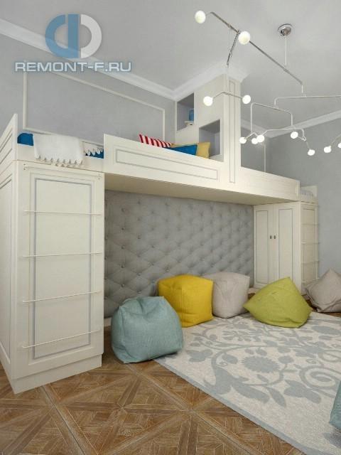 Дизайн детской комнаты в 3-комнатной квартире на Ломоносовском проспекте
