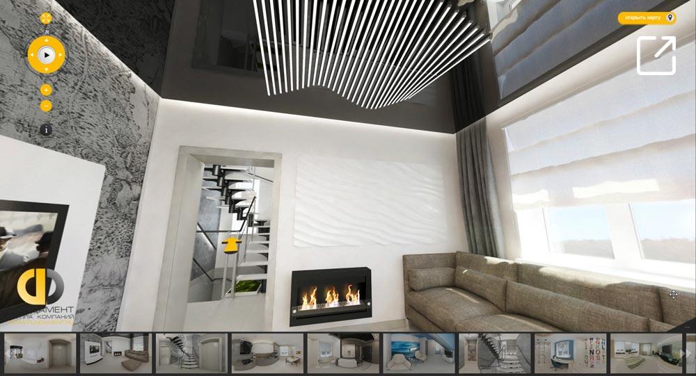 Дизайн интерьера дома в стиле минимализм в 3d – Можайск