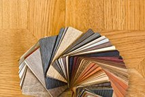 Selection of finishing materials