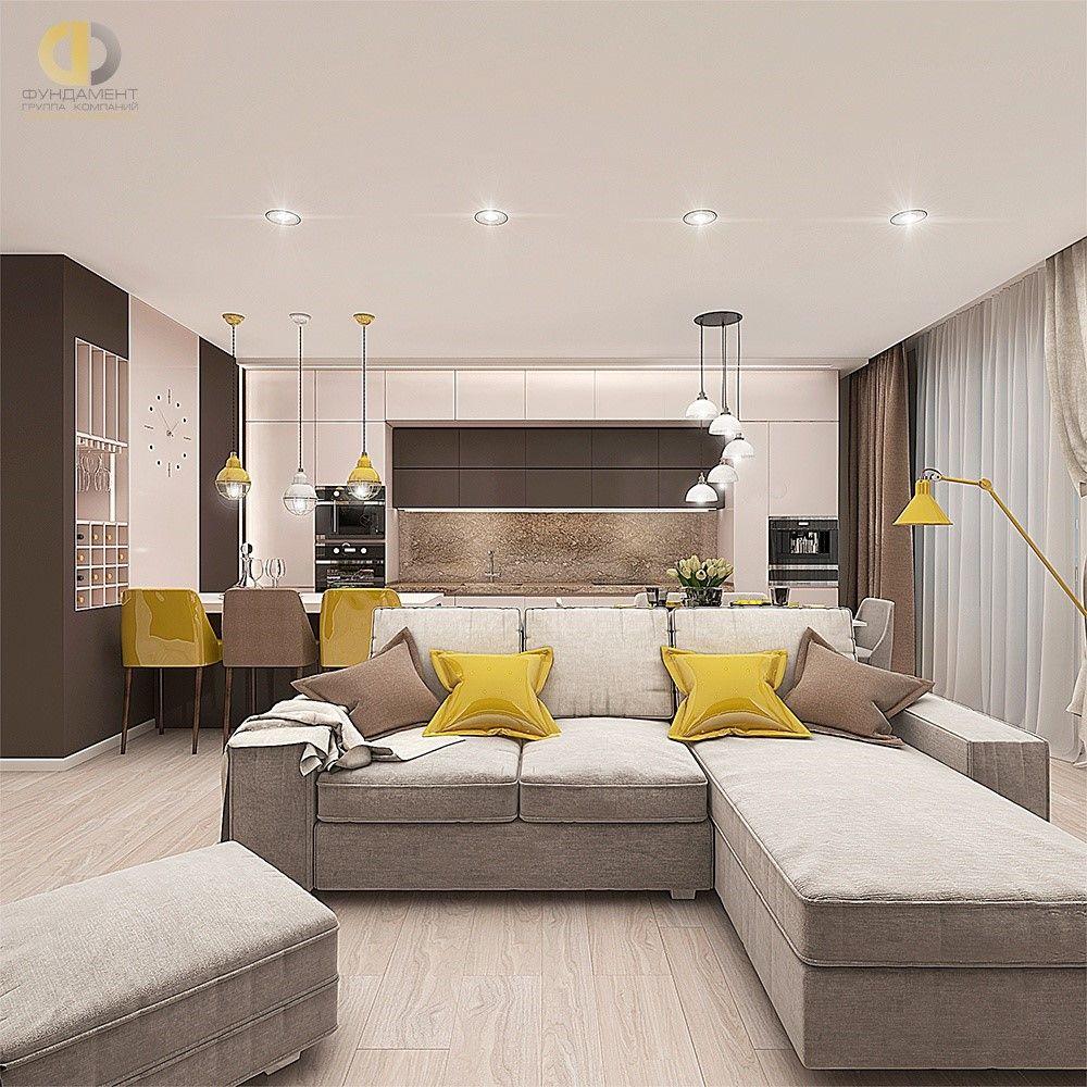 Дизайн интерьера гостиной. Фото 2018. Современные идеи