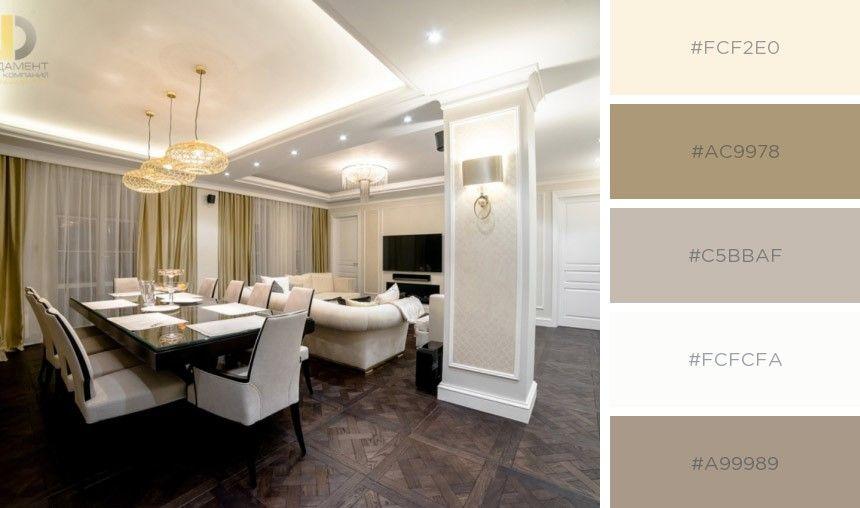 Услуги создания дизайн интерьера квартир в Москве Цветовые гаммы и дизайн в квартиреграфии