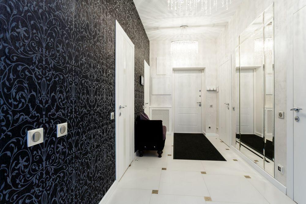 Интерьер гостиной после ремонта в квартире в современном стиле