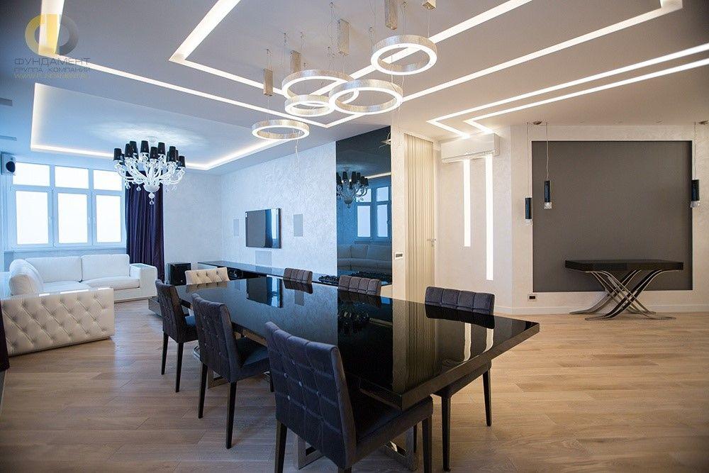 Дизайн квартир под ключ в новостройках Москвы. Фото проектов