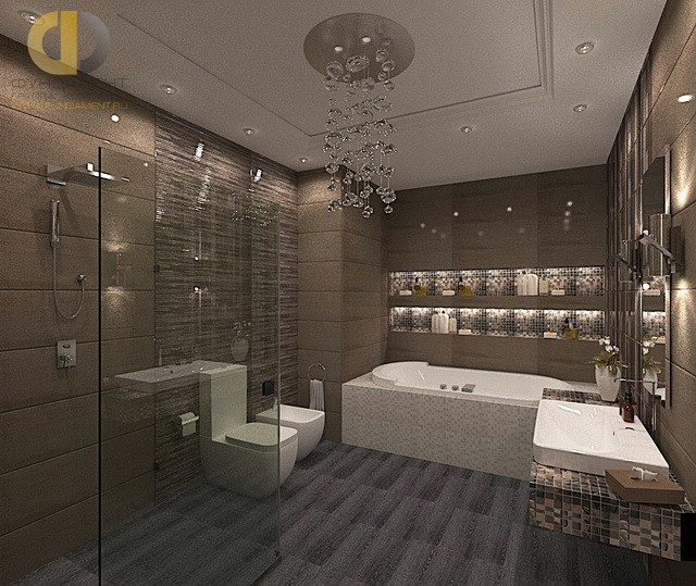 ремонт ванной современный дизайн 2016