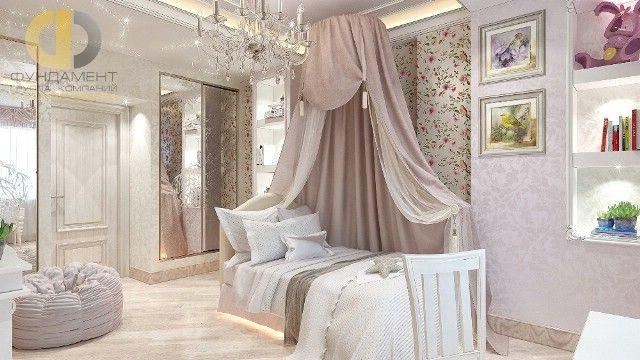 Дизайн детской комнаты для девочки. 29 фото