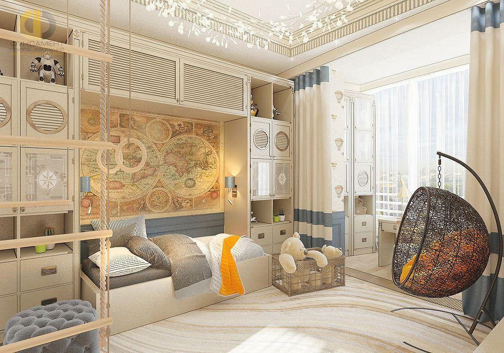 Детская комната для мальчика. Дизайн и фото интерьеров