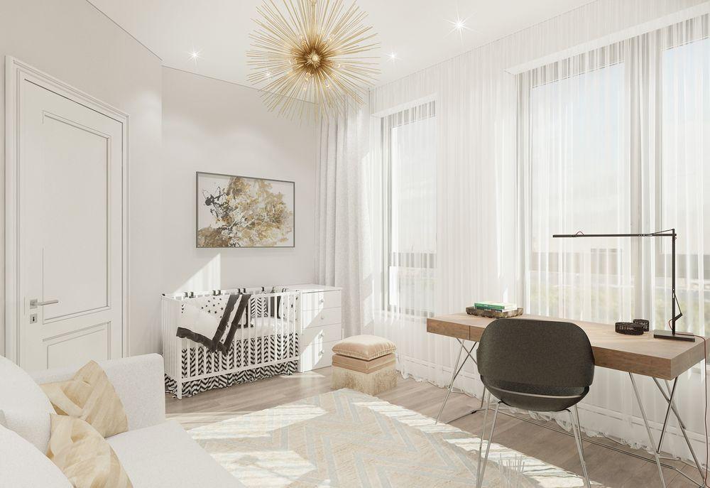 Интерьер детской в квартире в современном стиле
