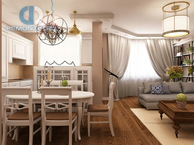 Ремонт в стиле прованс в квартире. 36 фото