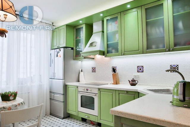 Интерьер квартиры Дениса Никифорова в стиле современный прованс после окончания ремонта