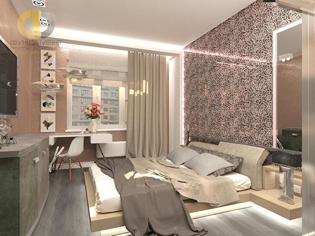 Детская комната со светодиодной подсветкой