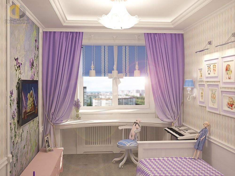 Детская комната для девочки 12 лет. Фото 2018