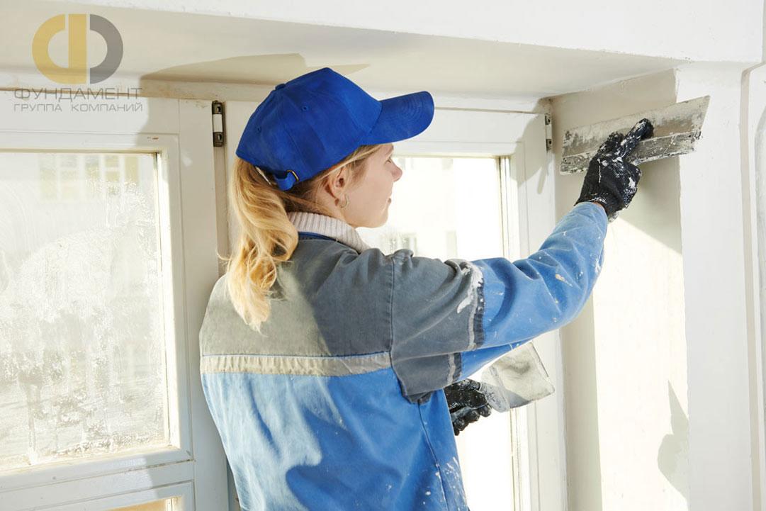 Отделка новой квартиры под ключ – выравнивание поверхностей в ноль