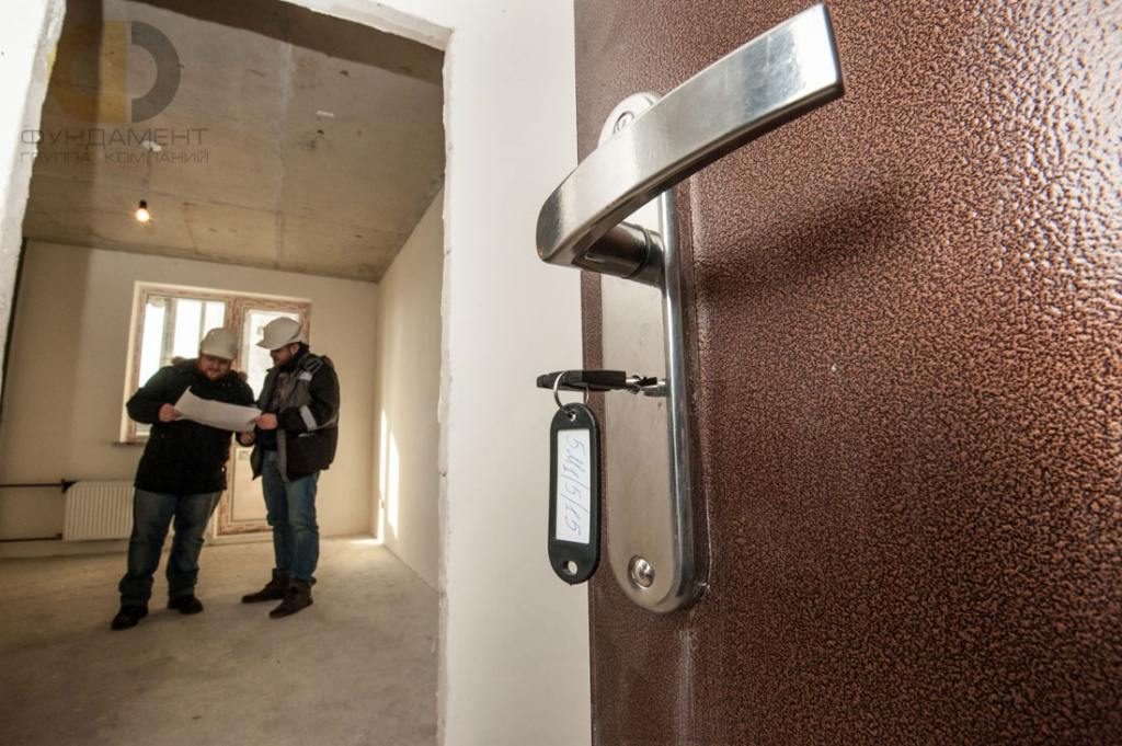 Приемка квартиры в новостройке у застройщика. Услуга приемки от ГК «Фундамент»