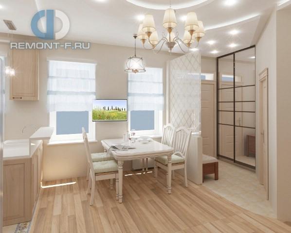 Интерьер маленькой кухни в квартире в стиле прованс