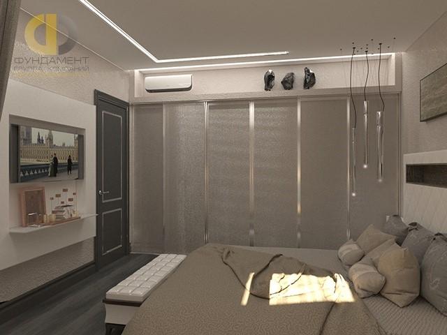 Спальня хозяев с большой гардеробной