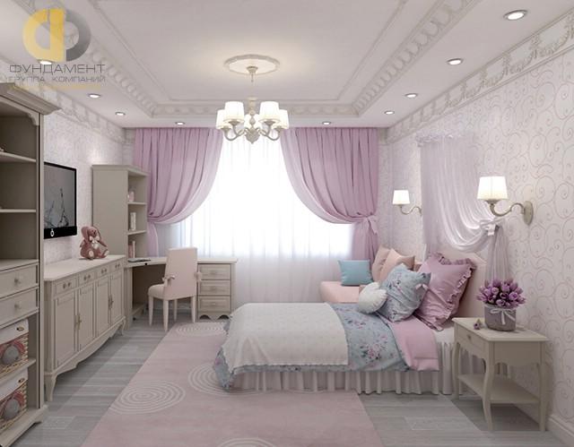 Дизайн детской комнаты для девочки. Фото в стиле прованс