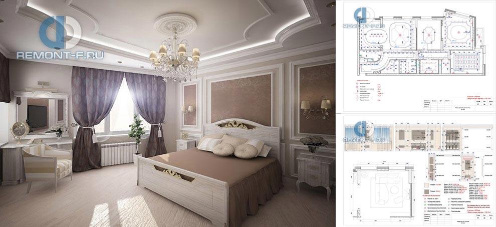 Дизайн-проект квартиры в новостройке – чертежи и визуализация