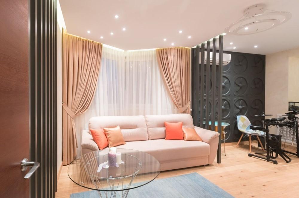 Интерьер комнаты сыновей Михаила Багдасарова после окончания ремонта