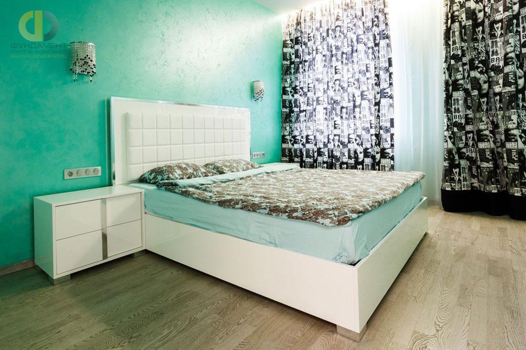 Капитальный ремонт в современной спальне