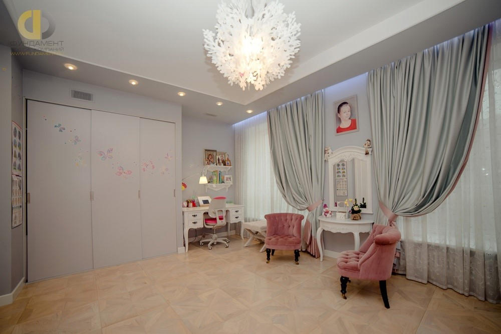 Детская комната для девочки 12 лет. Фото интерьера